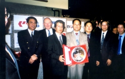 Award Presentation Ceremony of the Safe Foremen Award 2003